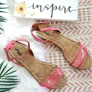 LUCKY BRAND Covela open toe ankle strap sandals